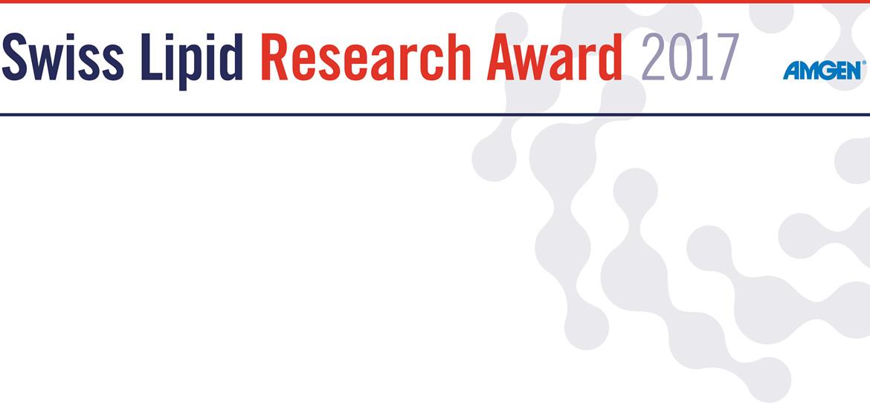Swiss Lipid Research Award 2017 - sponsored by AMGEN