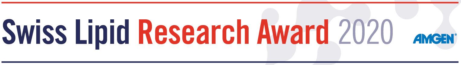 Swiss Lipid Research Award 2020 - sponsored by AMGEN